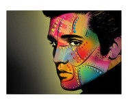 Картина Elvis Has Left The Building by Mark Ashkenazi от ICON Designe
