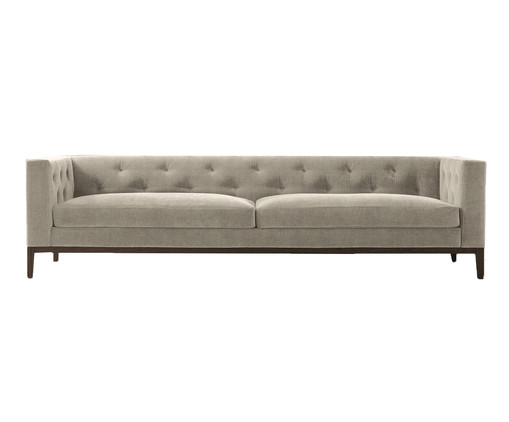 Диван Italia tufted sofa от IdealBeds, бежевый