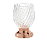 Стакан для зубных щеток Luxe Glass and Copper от Andrea House