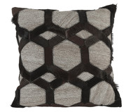 Декоративная подушка Safira Black Patchwork Cover от Premier Housewares