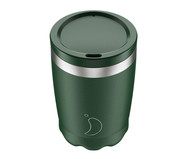 Термокружка Coffee Cup 340 мл Matte Green от Chilly's Bottles